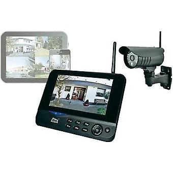 Wireless CCTV system 4-channel incl. 1 camera dnt 52207 QuattSecure IP