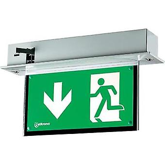LED escape route lighting Ceiling recess-mount Beltrona MEXM7.25.06