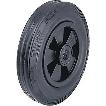 Blickle 20743 wheel with rubberised tyres and plastic-rims, Ø 160 mm Type (misc.) Pneumatic tyre