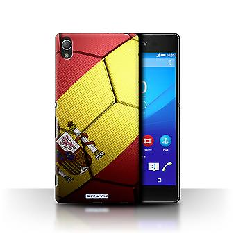 STUFF4 Case/Cover for Sony Xperia Z4/Spain/Spanish/Football Nations