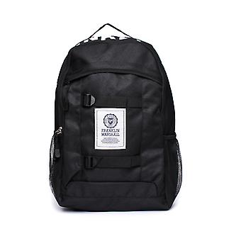 Franklin & Marshall nero Classic Backpack