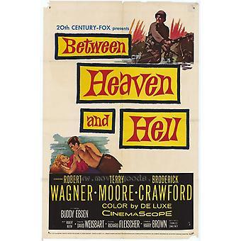 Mellan himlen och helvetet filmaffisch (11 x 17)