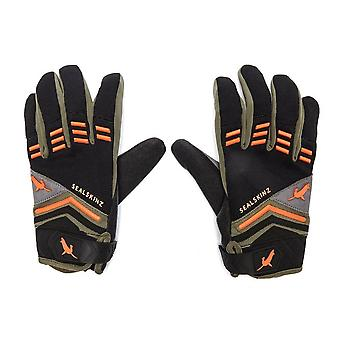 Black Sealskinz Men's Dragon Eye Mountain Bike Gloves
