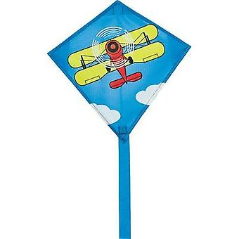 HQ 0403406 Mini Eddy Biplane Single Line Kite Wingspread 300 mm Vent 3 - 6 bft