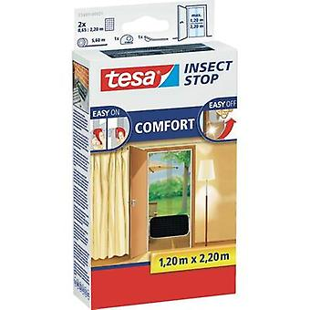 Fly screen tesa Insect Stop Comfort (L x W) 2200 mm x 1200 mm Anthracite 1 pc(s)