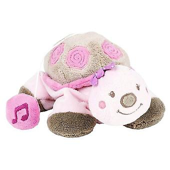 Nattou Nina, Jade & Lily: Lili Mini Musical Turtle (Bebes , Jouets , Peluches)