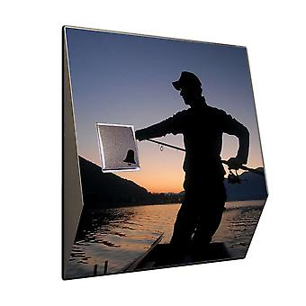 Wireless doorbell Sunrise fishing - V2A stainless steel wireless