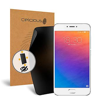 Celicious Privacy Plus Meizu PRO 6 Plus 4-Way Visual Black Out Screen Protector