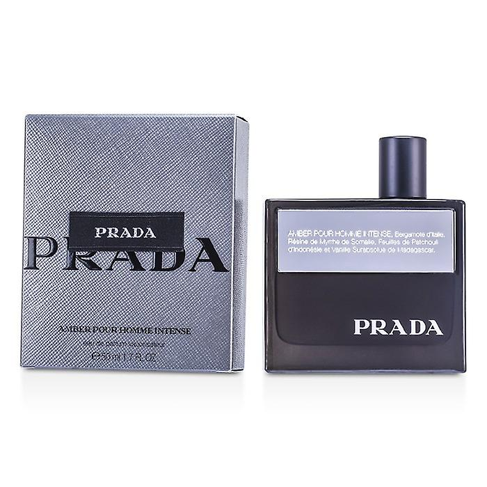 Prada Amber Pour Homme Intense Eau De Toilette Spray 50ml / 1.7 oz
