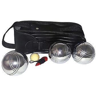 Import Petanque 3 Balls With Cover Bag (Outdoor , Sport)