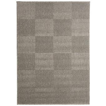 Grå geometriske firkantede Lounge tæpper - Floorit