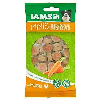 Iams Minis Chicken & Carrots 100g (Pack of 16)