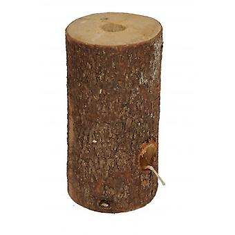 20cm Fire Log With Built In Wick For Use Outdoor Only