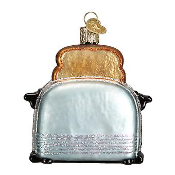 Kitchen Toaster Retro Look Christmas Holiday Ornament Glass