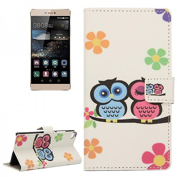 Pocket wallet premium model 43 for Huawei Ascend P8