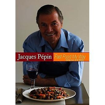 Jacques Pepin-hurtig mad min måde sæt [DVD] USA importerer