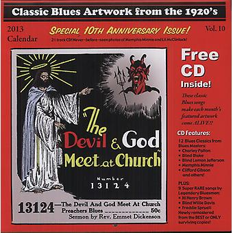 Klassiske Blues illustrationer fra the 1920s kalender - 2013-klassiske Blues illustrationer fra 1920s kalender [CD] USA importen