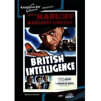 British Intelligence [DVD] USA import