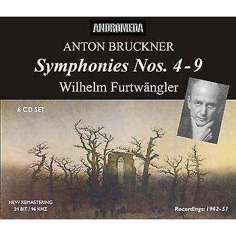 Bruckner/Furtwangler/Berliner Philharmoniker - Anton Bruckner: Symfonier nr 4-9 [CD] USA import