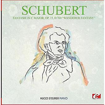 Schubert - Fantasie en importación de C mayor Op. 15 D.760 Fantasía Wanderer [CD] Estados Unidos