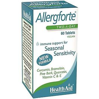 Health Aid Allergforte 60COMP. (Vitaminas e suplementos , Multinutrientes)