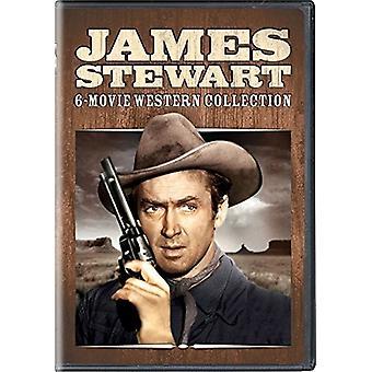 James Stewart: 6-Movie Western Collection [DVD] USA import