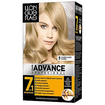 Llongueras Advance Hair Color Colour # 9-Light Blond