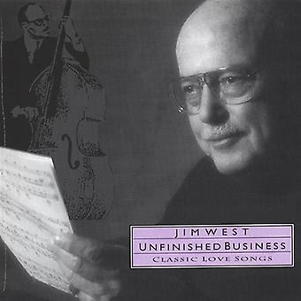 Jim West - uafsluttede sager [CD] USA import