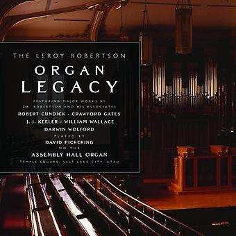 Robertson / Wolfor - Leroy Robertson orgel Lega [CD] USA import