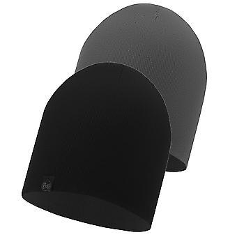 Buff Dub reversibile a maglia Beanie - nero