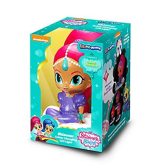 Shimmer And Shine Official Illumi-Mates Shimmer Bedside Lamp