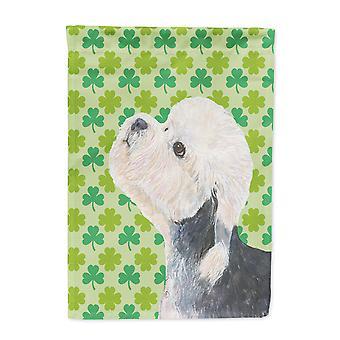 Carolines Schätze SS4434-FLAG-PARENT Dandie Dinmont Terrier St. Patricks Day