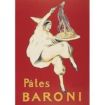 Паштеты Baroni плакат печати Leonetto Каппиэльо (18 x 24)