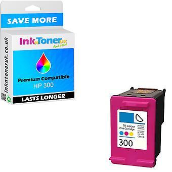 Compatibel - HP Envy 110 e-All-In-One Cartridge - 300 kleur CC643EE