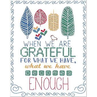 Grateful Stamped Embroidery Kit-8