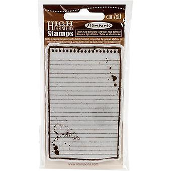 Stamperia Cling Stamp 2.5