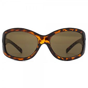 Monkey Monkey Childrens Poppy Glamour Wrap Sunglasses In Tortoiseshell