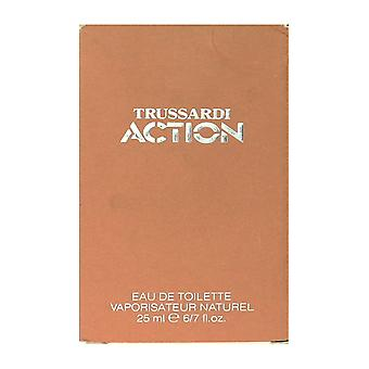Trussardi Action Eau De Toilette Spray 25ml/0.86Oz In Box