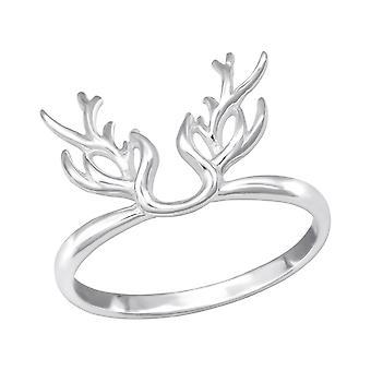 Antler - 925 Sterling Silver Plain Rings - W32279X