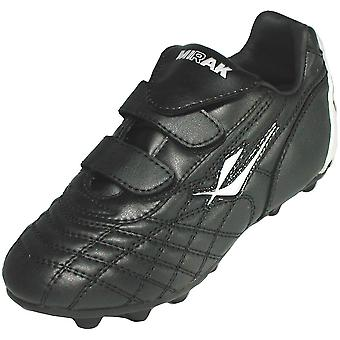 Mirak Boys Forward Moulded Grip Sole Football Rugby Boot Black