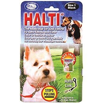 Company of animals Halti Dog Head Collar - Size 4, Black