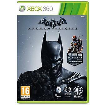 Batman Arkham oorsprong (Xbox 360)
