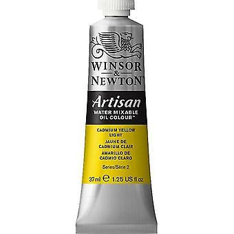 Winsor & Newton Artisan vatten blandbart olja färg 37ml (113 kadmium gult ljus S2)