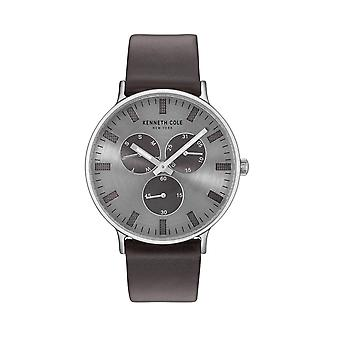 Kenneth Cole New York men's watch wristwatch leather 10031464