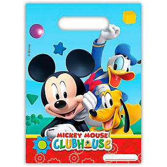 Party bags bags bag Mickey Mickey party birthday 6 pieces