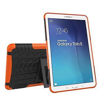 Hybrydowy odkryty Pokrywa ochronna obudowa Orange dla Samsung Galaxy tab E 9,6 SM T560 T561 torba