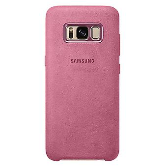 Samsung Alcantara cover EF XG950AP for Galaxy S8 G950F protective case cover pouch case pink