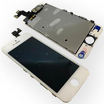 All-in-one display LCD complete replacement unit touch panel for Apple iPhone 5S white (no home button)