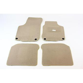 Fully Tailored Car Floor Mats - Volkswagen GOLF 4 Estate 1999-2006 Oval clip