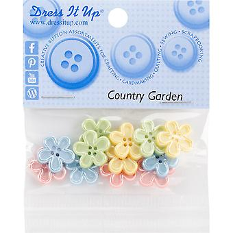 Dress It Up Embellishments-Country Garden